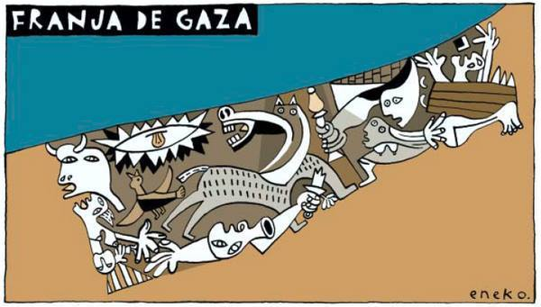 Ayer Gernika, hoy GAZA