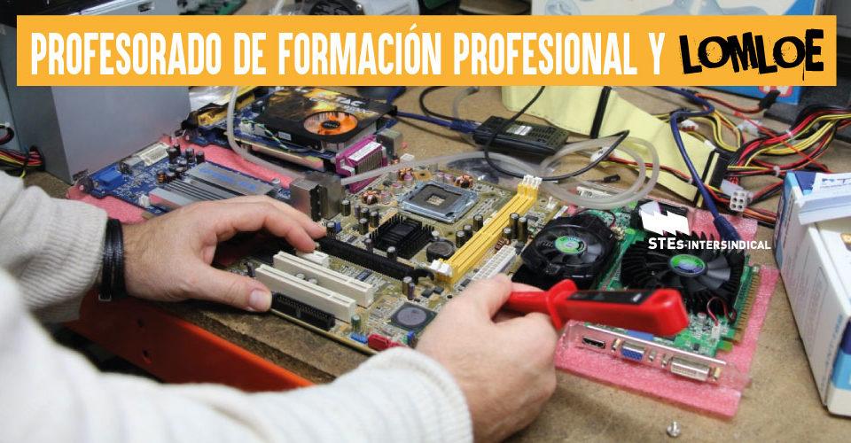 El profesorado de Formación Profesional con experiencia, a la expectativa de su futuro